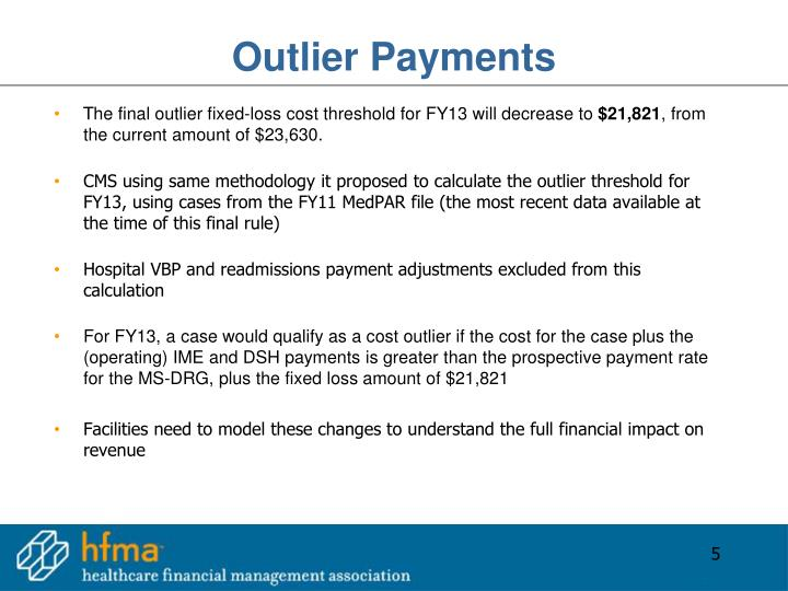 Outlier Payments