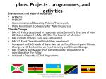 plans projects programmes and activities2