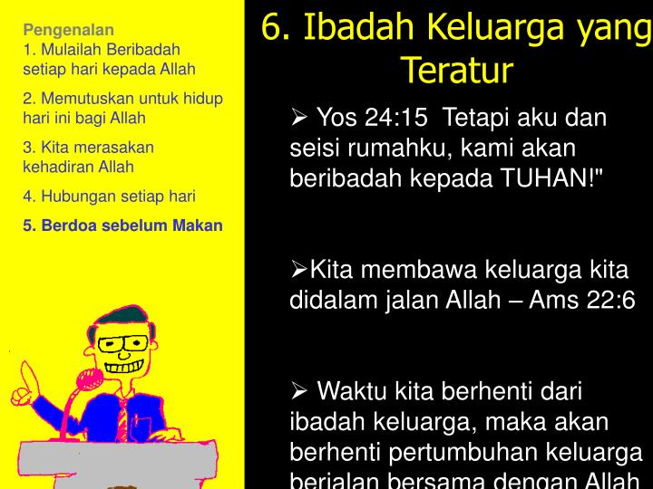 6. Memorize the Word:
