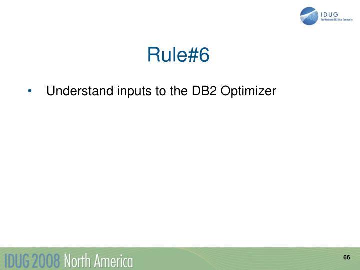 Rule#6
