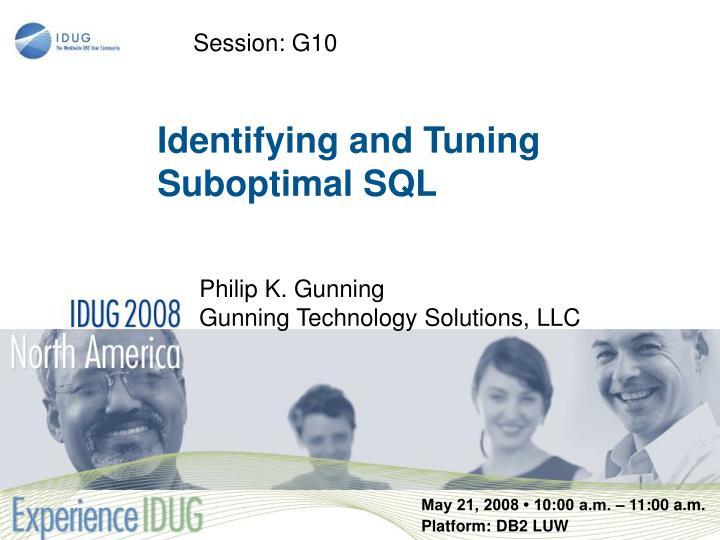Session: G10