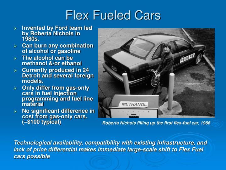 Flex Fueled Cars