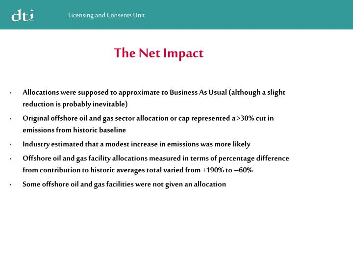 The Net Impact