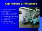applications prototypes