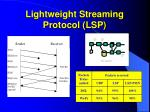 lightweight streaming protocol lsp