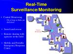 real time surveillance monitoring