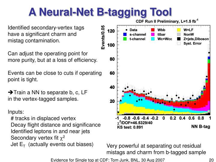A Neural-Net B-tagging Tool