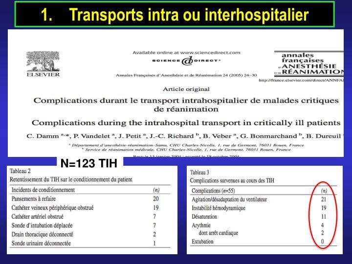 Transports intra