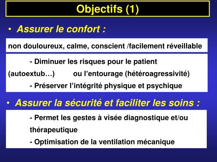 Objectifs (1)