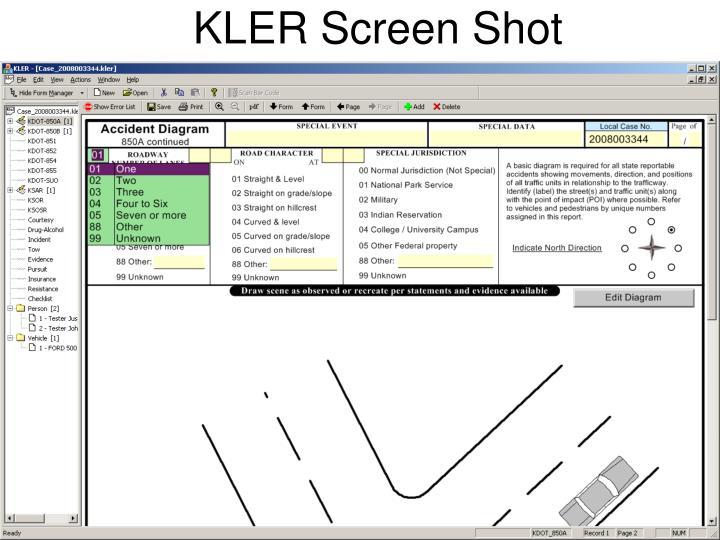 KLER Screen Shot