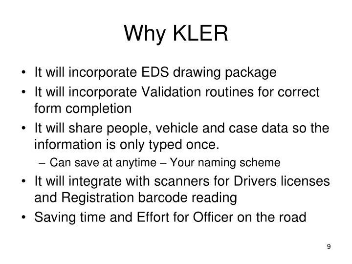 Why KLER