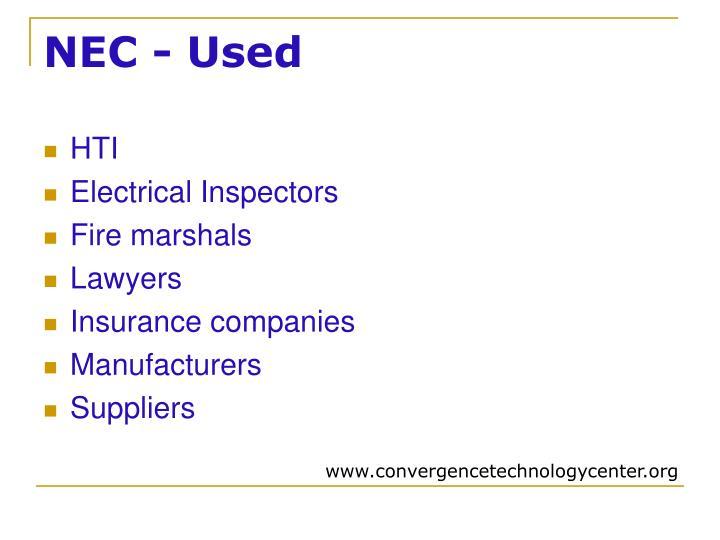 NEC - Used