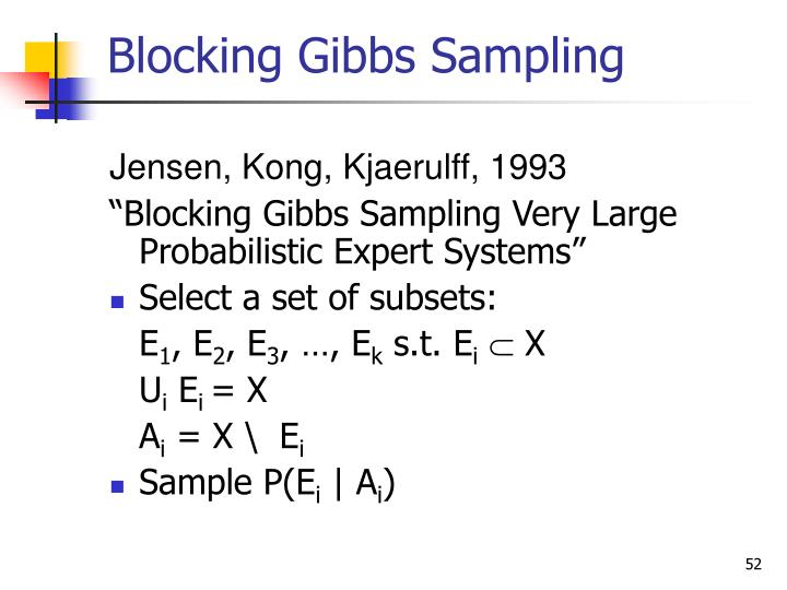 Blocking Gibbs Sampling