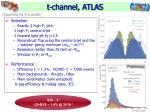 t channel atlas