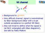 wt channel
