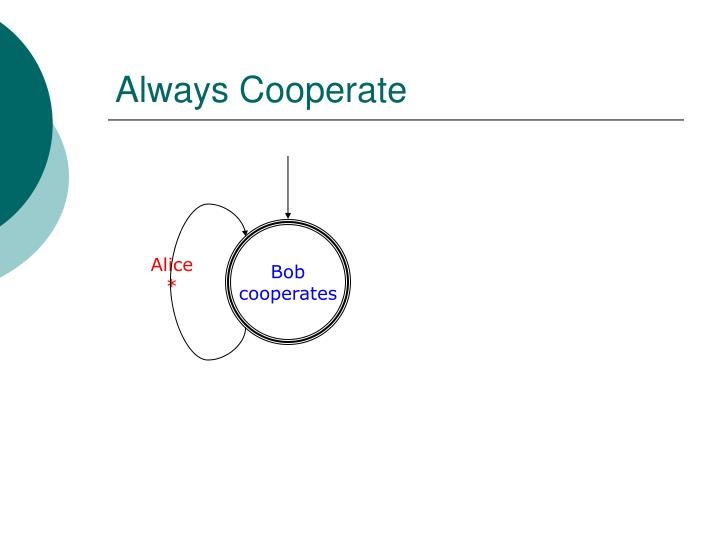 Always Cooperate