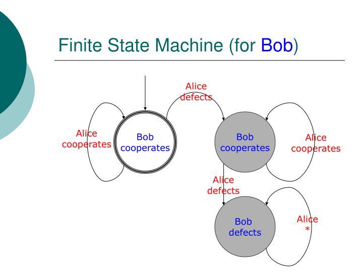 Finite State Machine (for