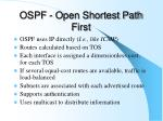 ospf open shortest path first2