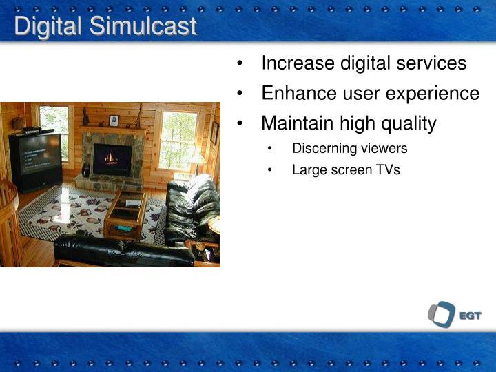 Digital Simulcast