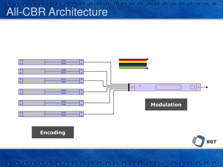 All-CBR Architecture