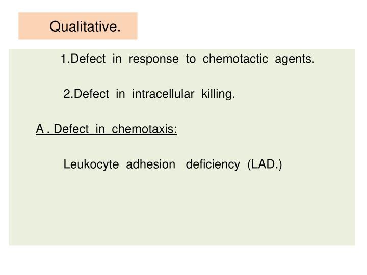 Qualitative.