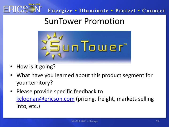 SunTower Promotion