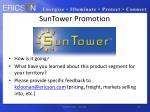 suntower promotion