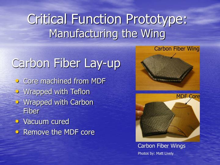 Carbon Fiber Lay-up