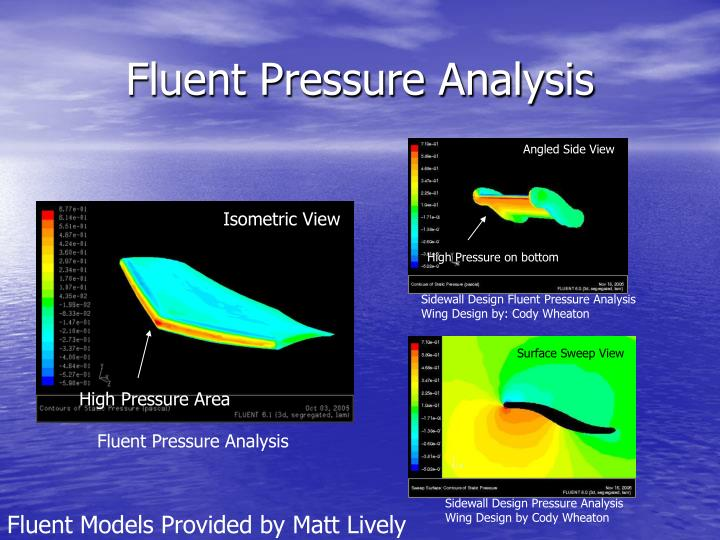 Fluent Pressure Analysis