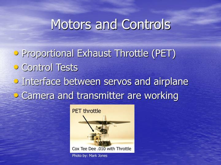 Motors and Controls