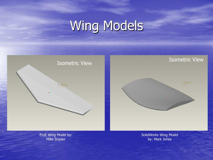 Wing Models