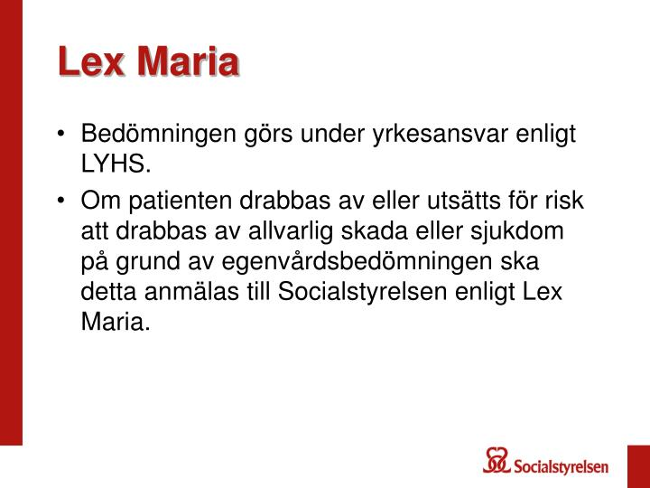 Lex Maria
