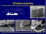 2d beam scanning