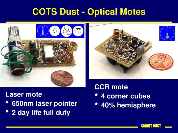 COTS Dust - Optical Motes