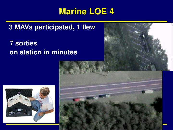 Marine LOE 4