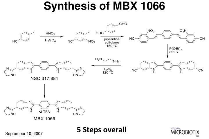 Synthesis of MBX 1066