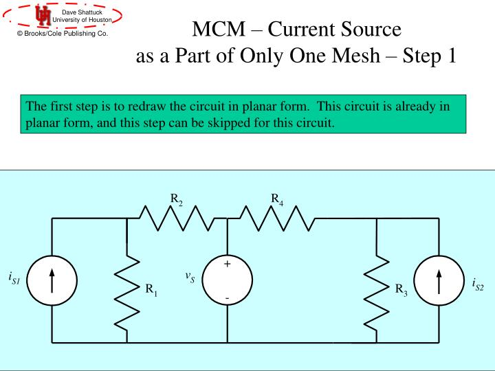 MCM – Current Source