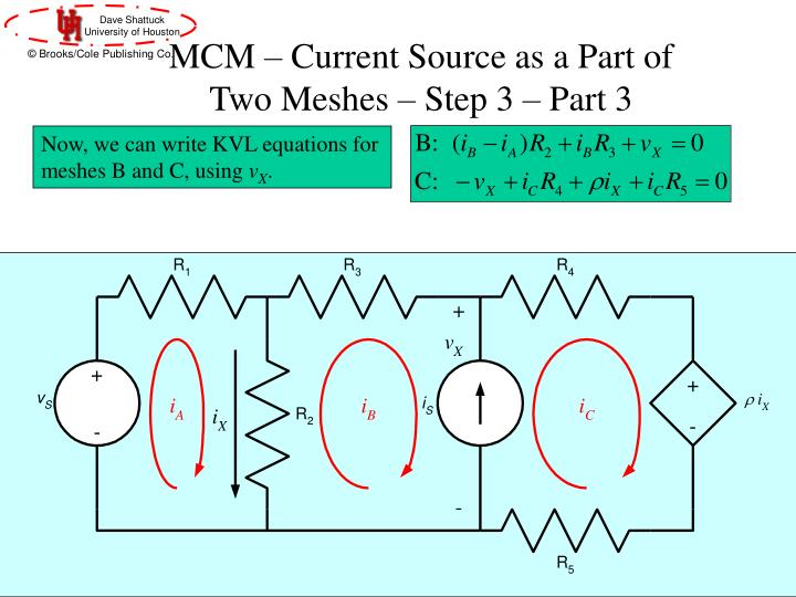 MCM – Current Source as a Part of