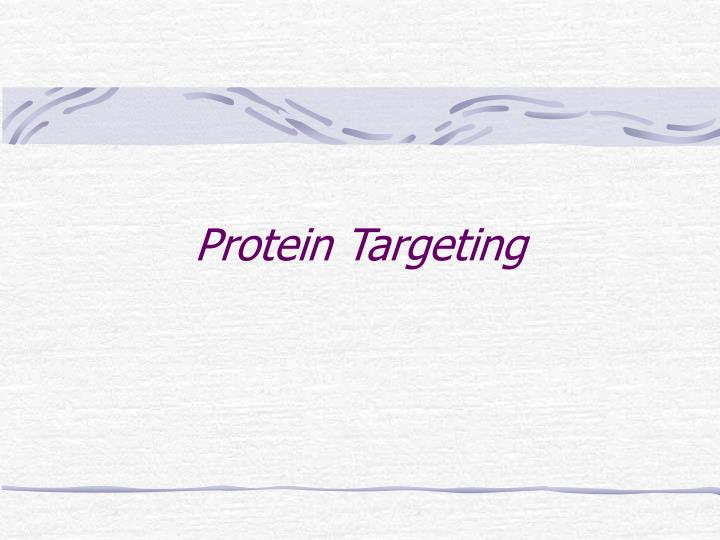 Protein Targeting