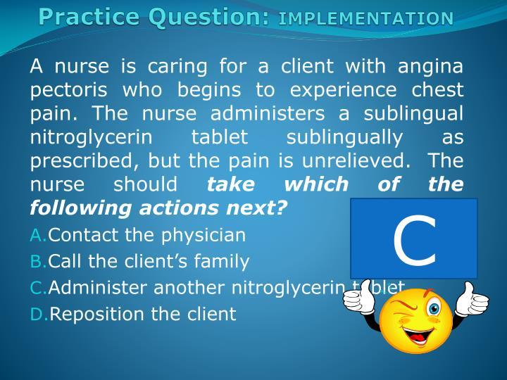 Practice Question:
