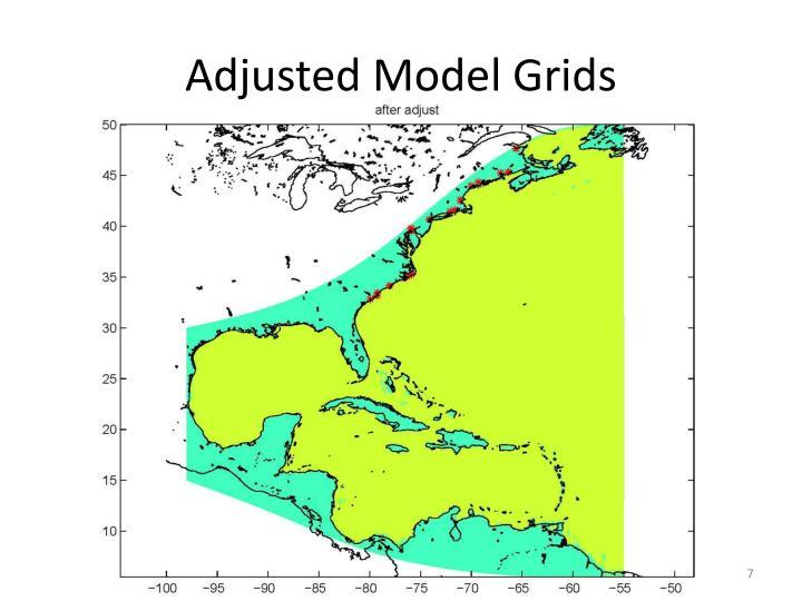 Adjusted Model Grids