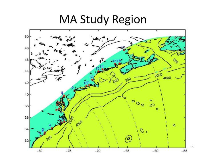 MA Study Region