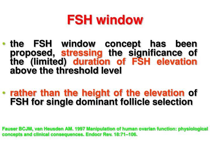FSH window