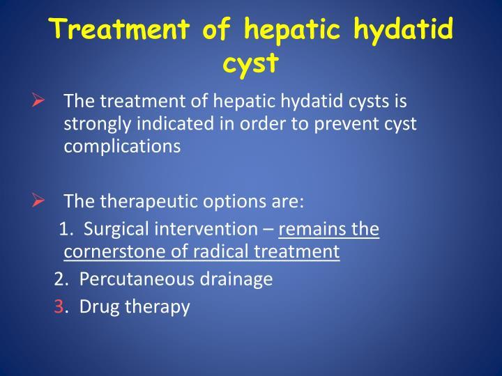 Treatment of hepatic