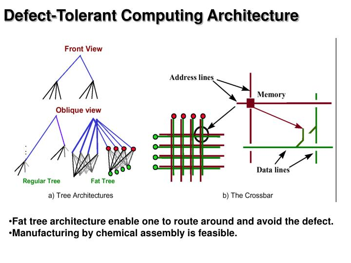 Defect-Tolerant Computing Architecture