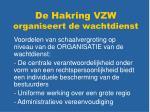 de hakring vzw organiseert de wachtdienst1