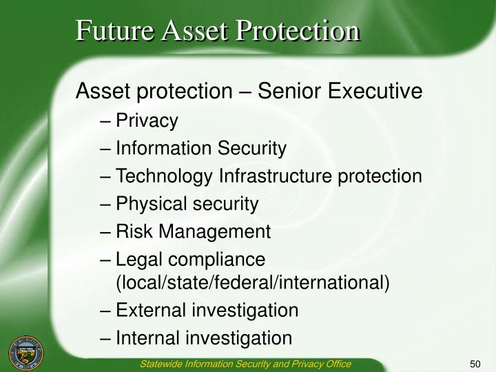 Future Asset Protection
