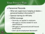 your privacy plan6