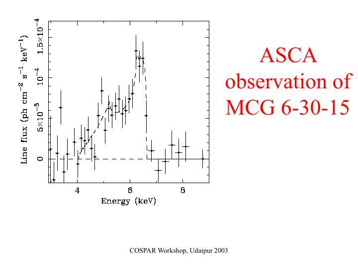 ASCA observation of MCG 6-30-15