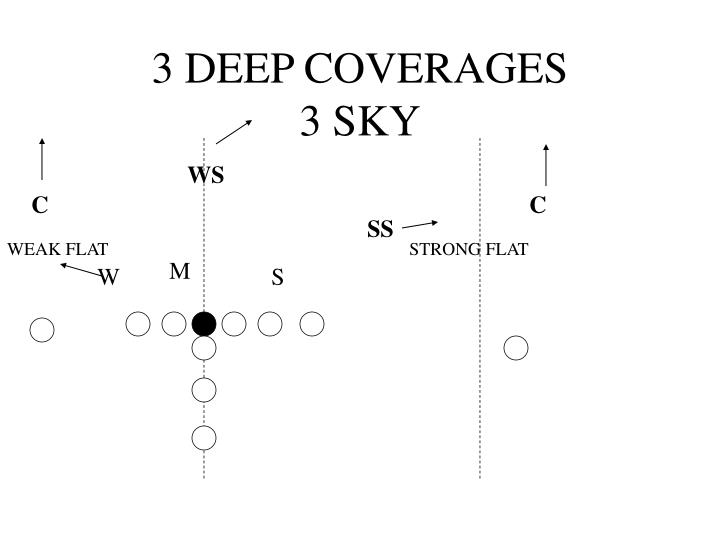 3 DEEP COVERAGES